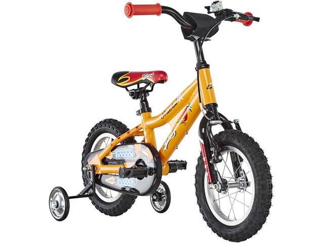 Ghost Powerkid AL 12 Børnecykel gul/orange (2019)   City-cykler